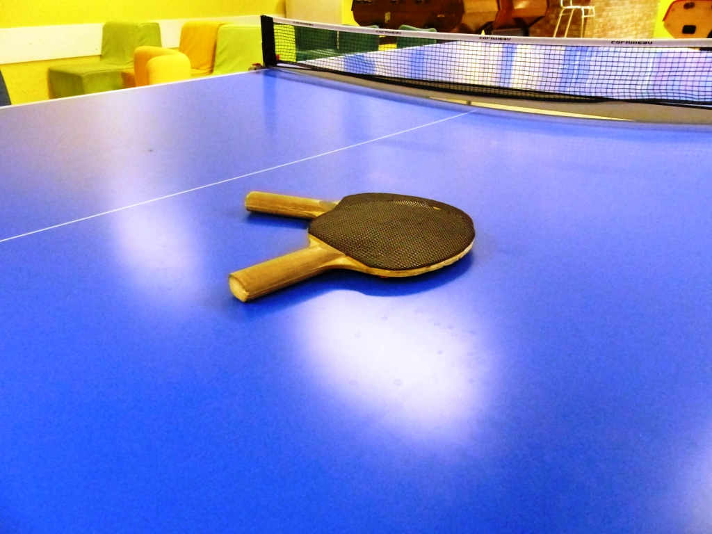 Foyer : Table de ping pong