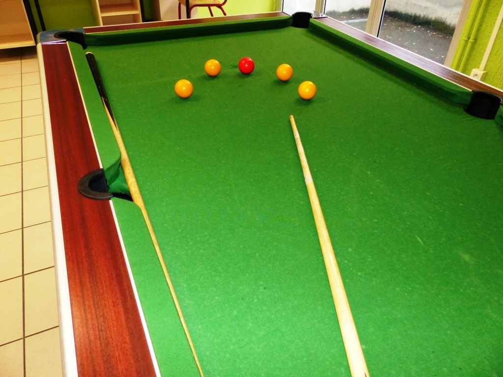 Foyer : Billard